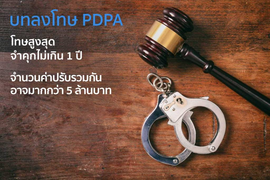 บทลงโทษสูงสุด PDPA